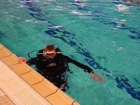 Réparations sous l'eau